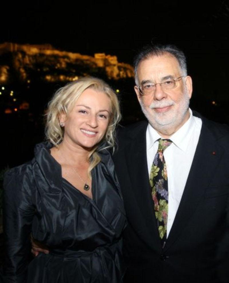 Δεσποινα Μουζάκη και Francis Ford Coppola