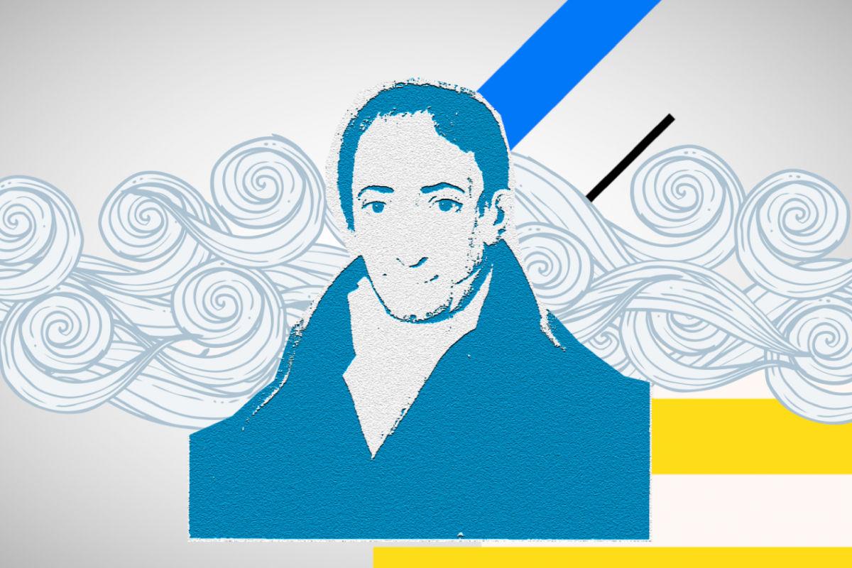 Αδαμάντιος Κοραής, ήταν Έλληνας φιλόλογος με βαθιά γνώση του ελληνικού πολιτισμού, 1821