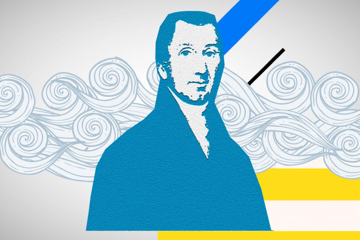 Τζέιμς Μόνροου, πρόεδρος των ΗΠΑ, που το 1823 έβγαλε διάγγελμα υπέρ της Ελληνικής Επανάστασης.