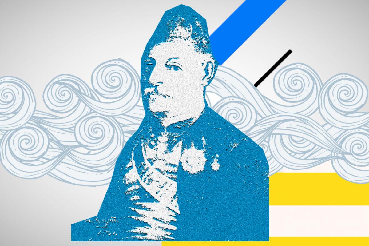 Ανδρέας Μιαούλης,ναύαρχος και πολιτικός, διοικητής ελληνικού στόλου κατά την Επανάσταση.