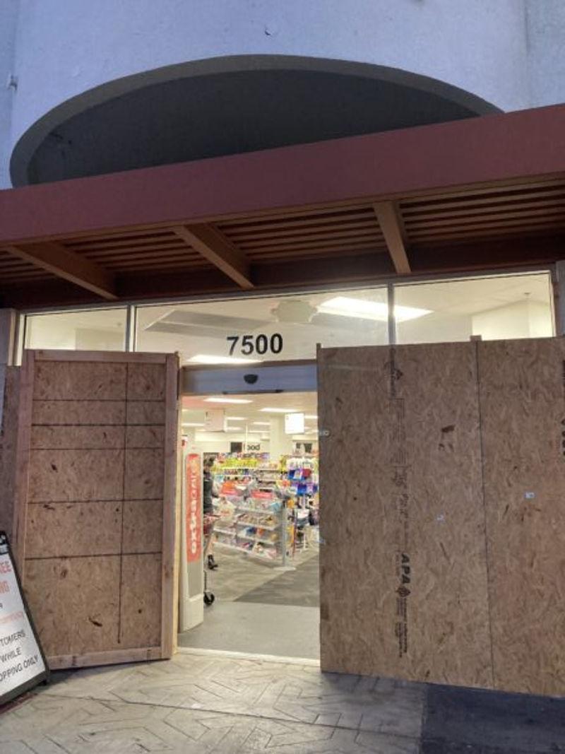 7500 super market usa closed protection