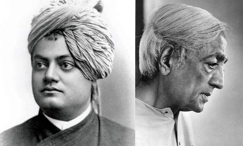 Swami Vivekananda – Jiddu Krishnamurti