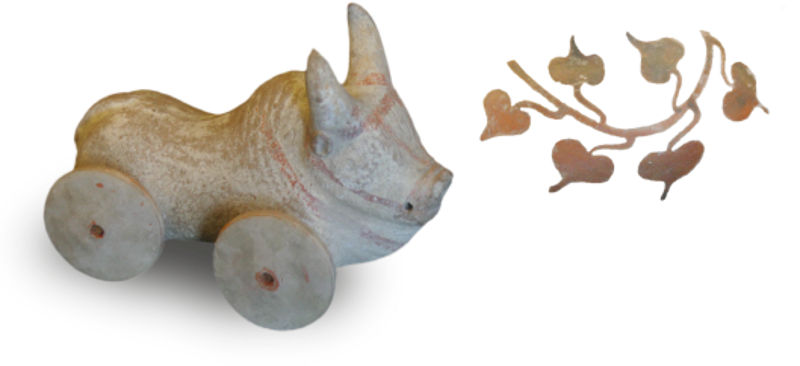 ancient greek toys: for the children thousand of years before
