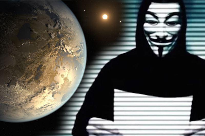 anonymous: «h ΝΑsΑ θα ανακοινώσει απόδειξη εξωγήινης ζωής»