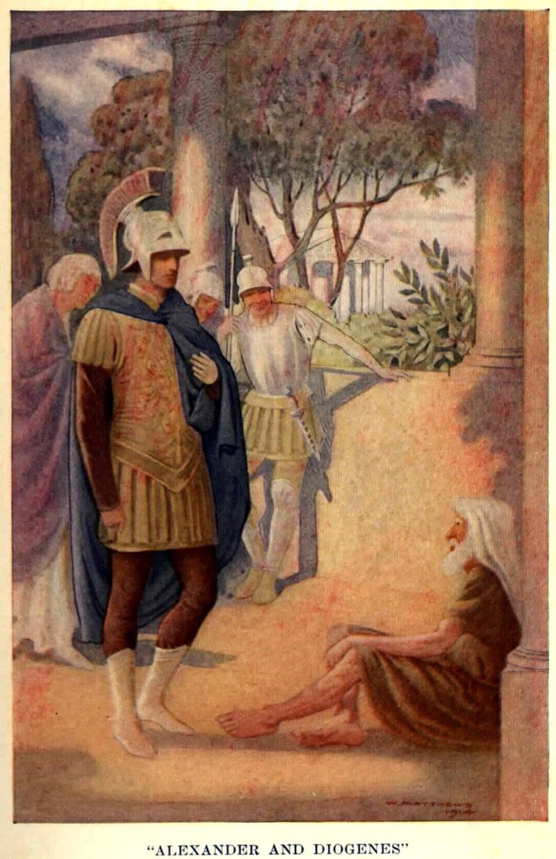 Διογένης ο Κυνικός και Μέγας Αλέξανδρος