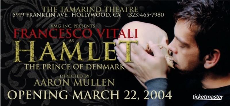 o francesco vitali στο θεατρο tamarind στο hollywood los angeles
