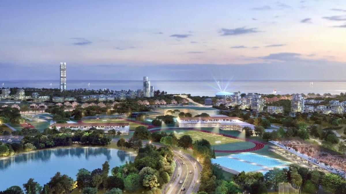 Τα αρχιτεκτονικά σχέδια για το Marina Tower