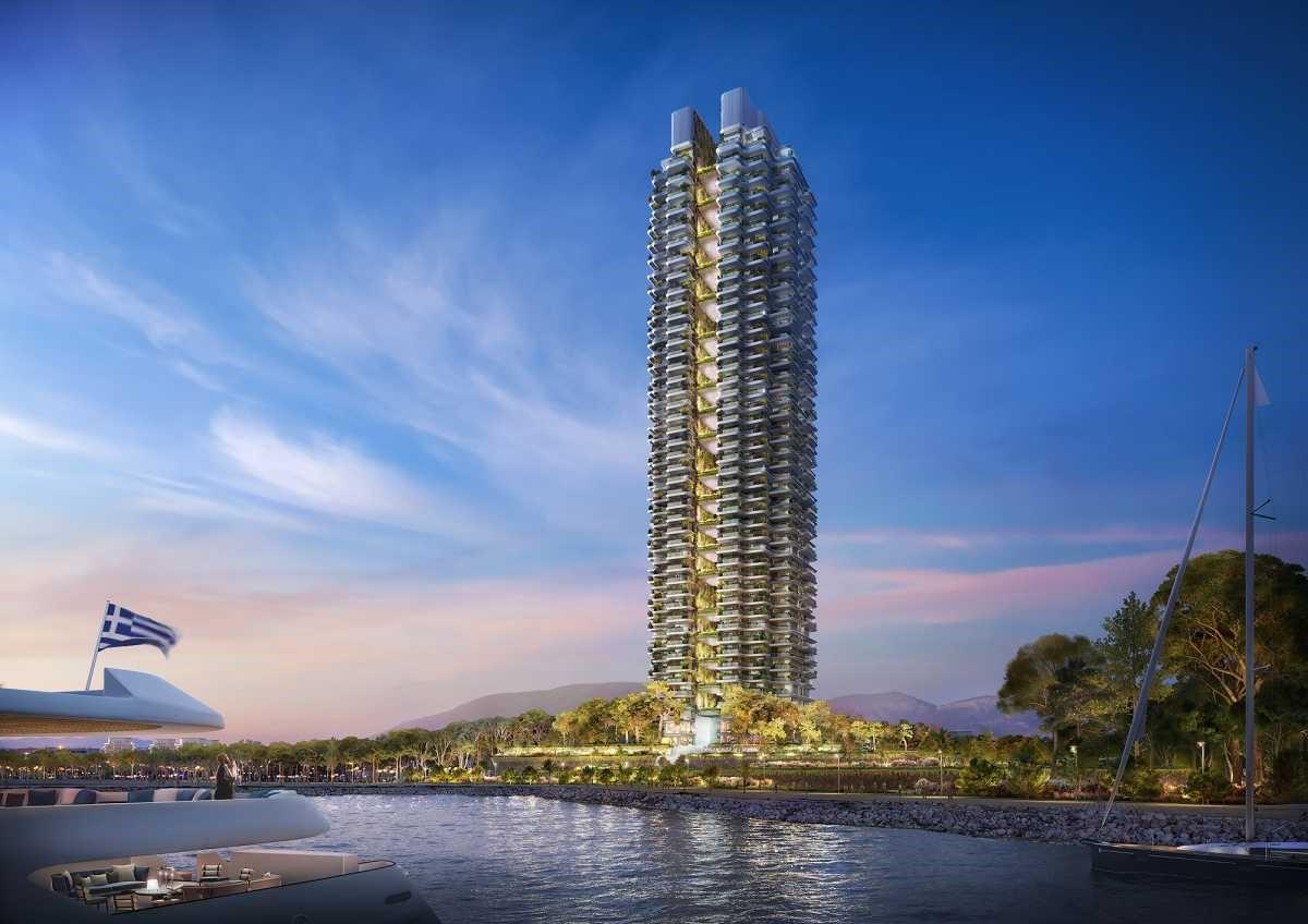 Η Lamda Development παρουσίασε τα αρχιτεκτονικά σχέδια για το Marina Tower