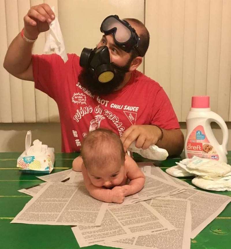 Ένας πατέρας σκέτη… τρέλα