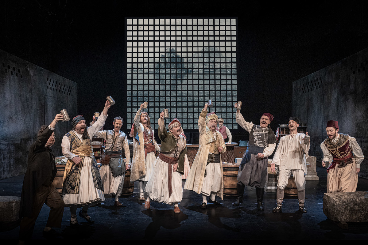 βαβυλωνία - ηθοποιοί θέατρο εις υγείαν