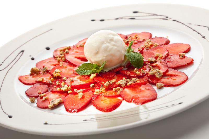 Φράουλες με ρούμι