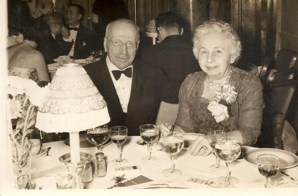 Ο Γιώργος Παπανικολάου και η σύζυγός του Μάχη.