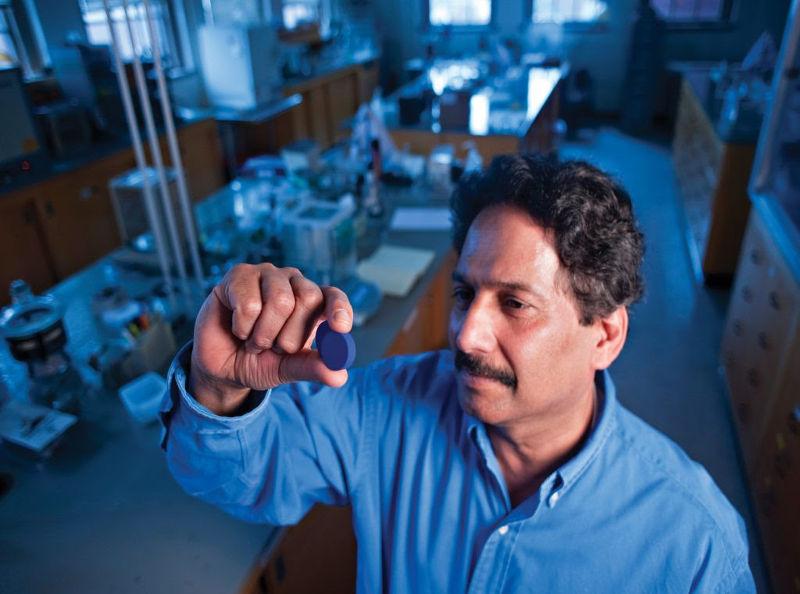 Chemist Mas Subramanian. Courtesy of Oregon State University
