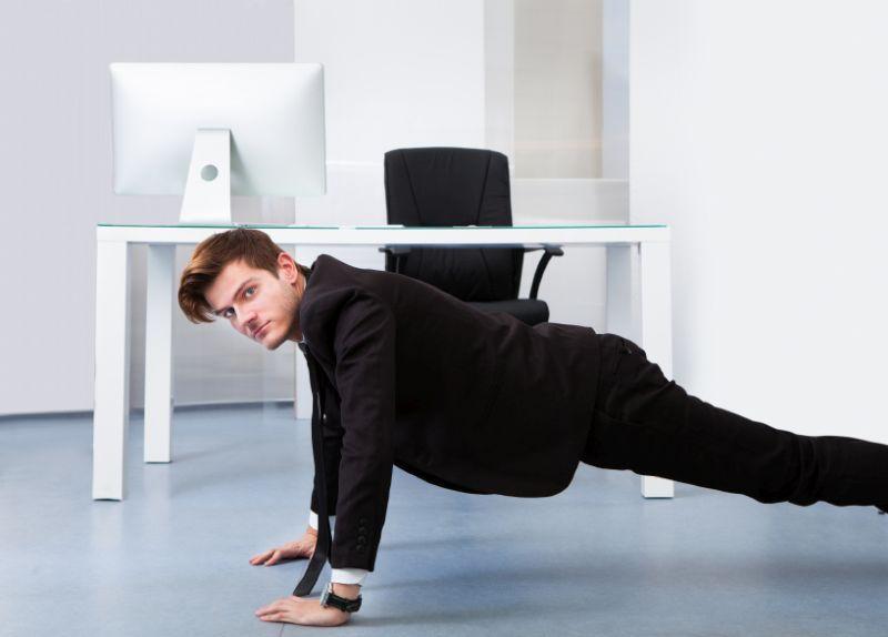 Γυμναστική στο γραφείο; Ναι, γίνεται!