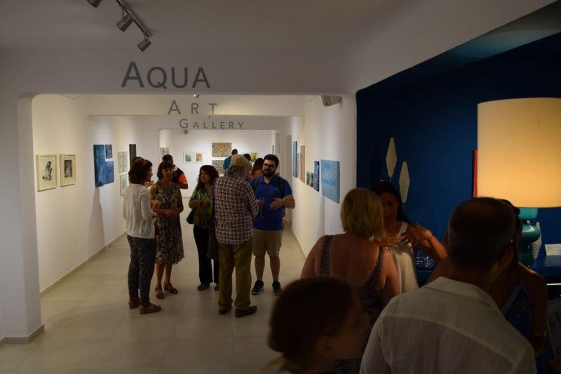 Η aqua gallery εγκαινίασε την έκθεση «Η Τέχνη ταξιδεύει»