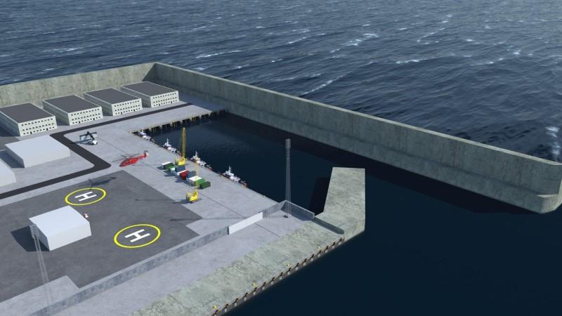 πράσινο νησί στην θάλασσα κατασκευάζει η Δανία