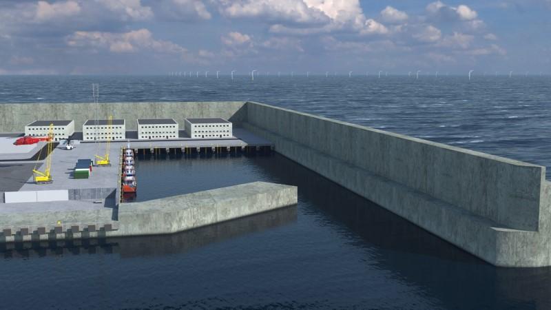 το πρώτο πράσινο νησί στην θάλασσα κατασκευάζει η Δανία