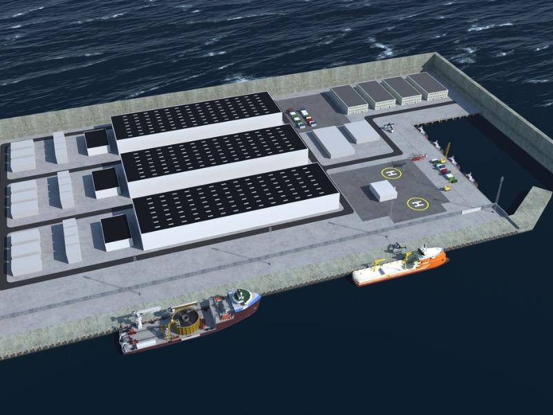 Πράσσινο νησί ένας ενεργειακός κόμβος στη Βόρεια Θάλασσα