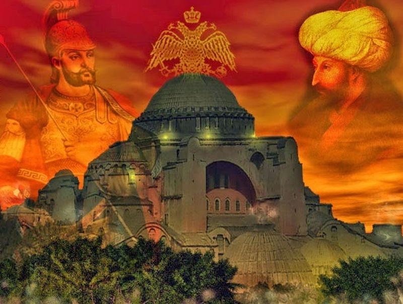 Η πόλις εάλω - ο λόγοσ του κωνσταντίνου παλαιολόγου προς τον στρατό του