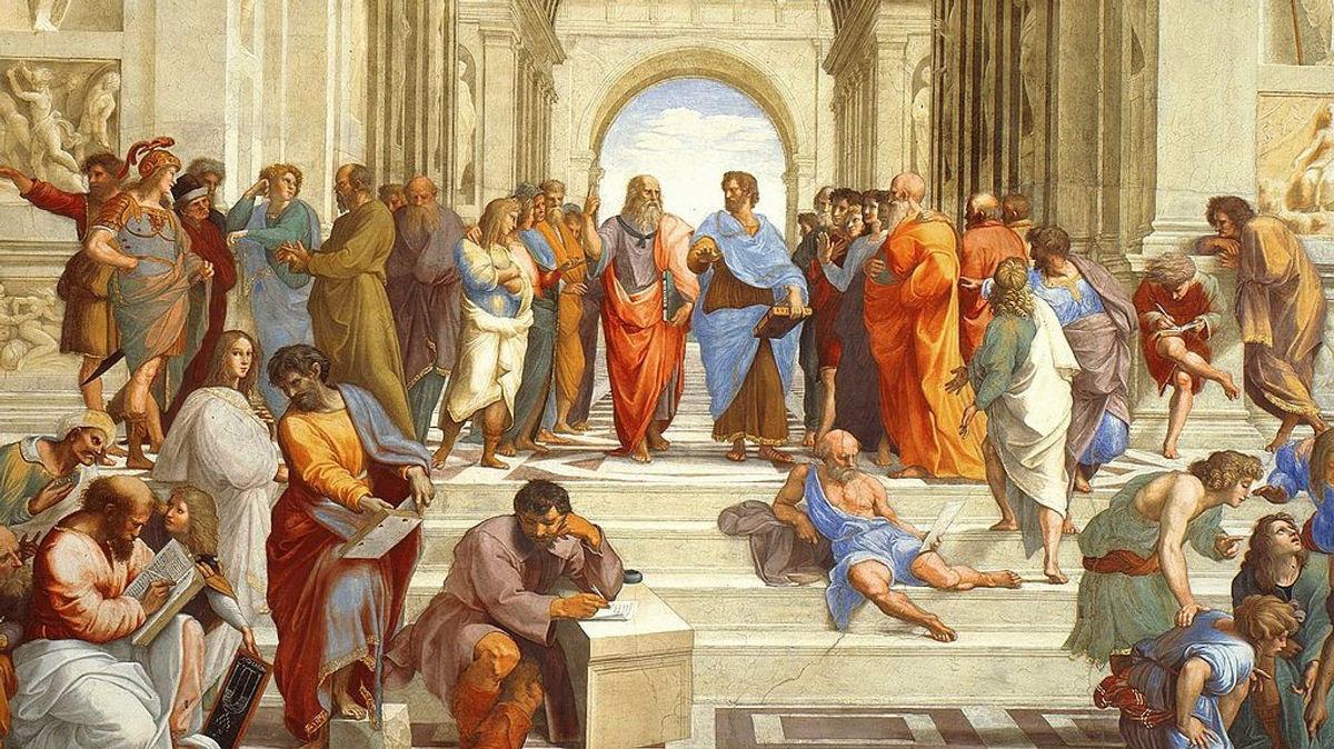 Η «Σχολή των Αθηνών» του Ραφαήλ θα κοσμεί τη Βουλή για έναν χρόνο