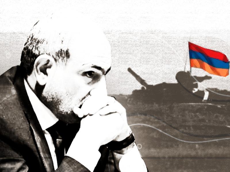 Νικόλ Πασινιάν, να καταγγέλλει απόπειρα πραξικοπήματος από τμήμα του αρμενικού στρατού