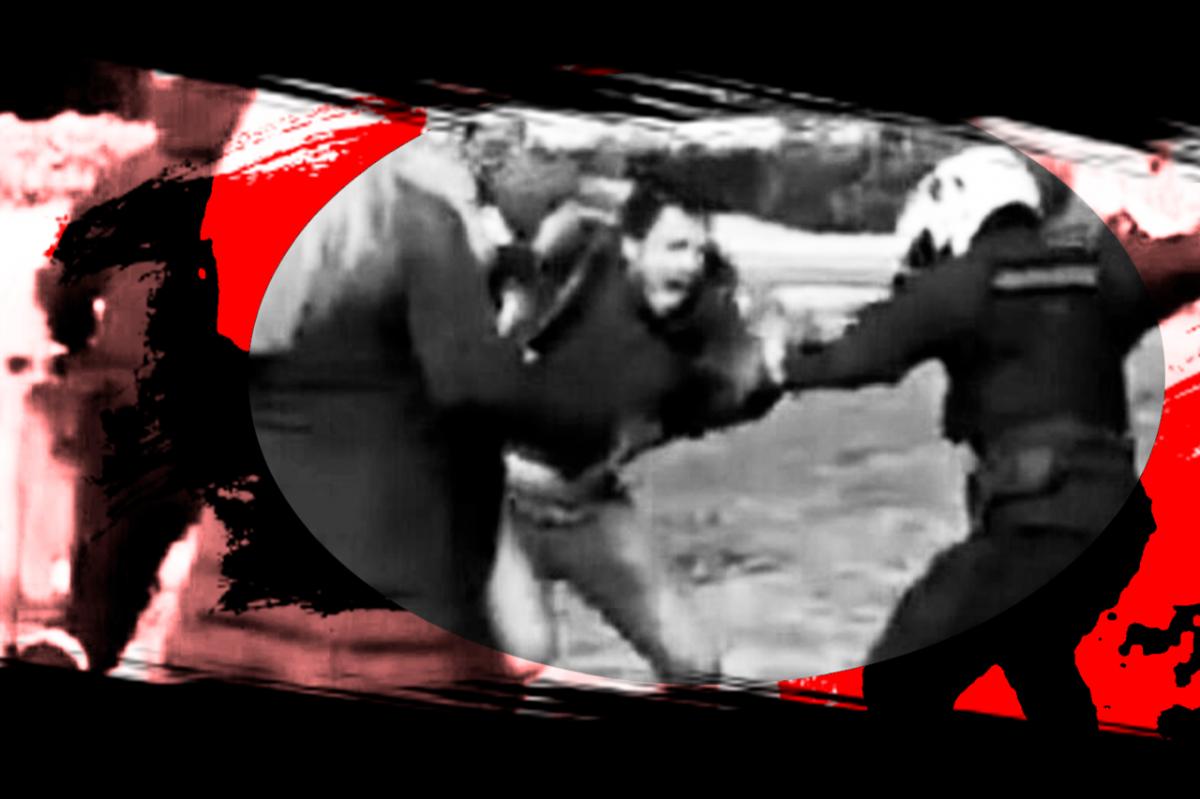 αστυνομική βία στο πάρκο
