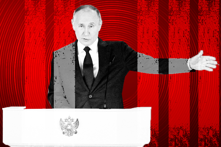 Η απάντηση της Ρωσίας θα είναι «ασύμμετρη» σε περίπτωση που απειληθεί από τη Δύση ξεκαθάρισε ο Βλαντιμίρ Πούτιν.