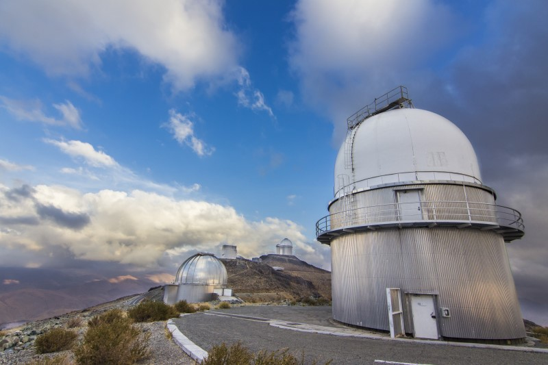τηλεσκόπιο στην μακρινή χιλη