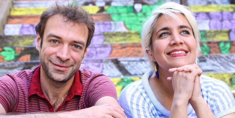 Κυβέλη Καστοριάδη & Ορέστης Καλαμπαλίκης: «songs for a blue cloud»