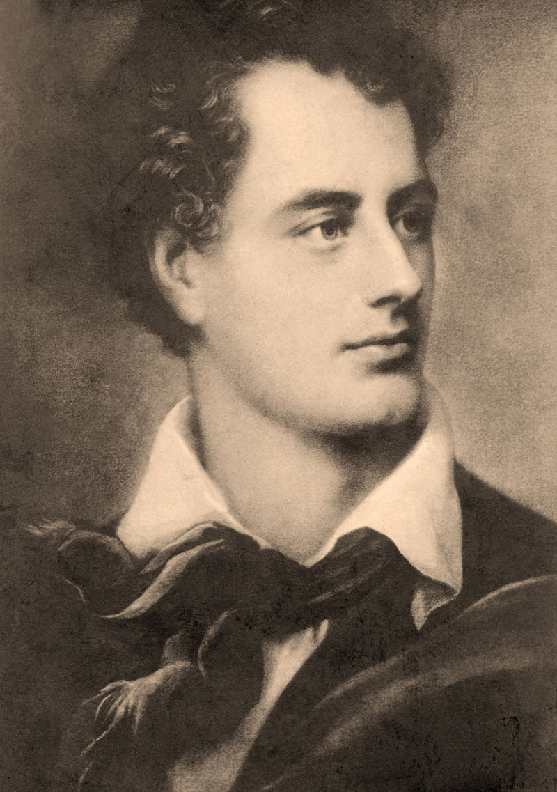 lord byron: romantic poet and great philhellene