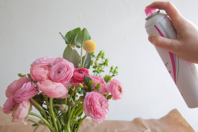 Λουλούδια στο σπιτικό μας - Hair Spray
