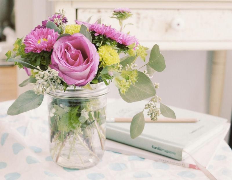 Λουλούδια στο σπιτικό μας