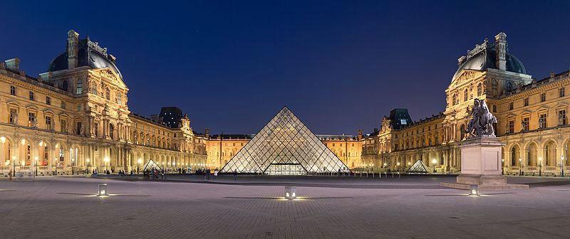Λούβρο: Από Τα Ανάκτορα στη Γυάλινη Πυραμίδα