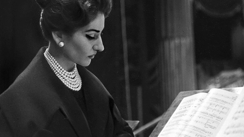 maria callas: a rose that wilted at its peak