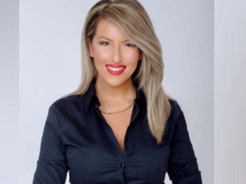 Aναστασία Γιάμαλη δημοσιογραφος στο greeks Channel