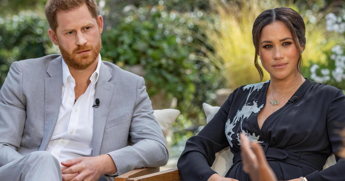 συνέντευξη της Μέγκαν και του Χάρι στην Όπρα Γουίνφρεϊ