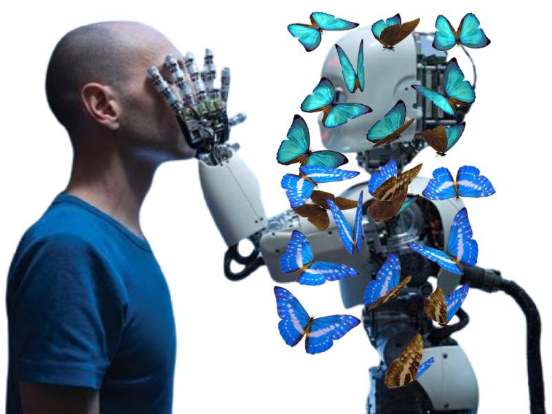 φιλία μεταξύ ανθρώπου και ρομπότ