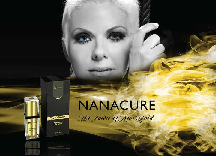 «nanacure»:  Όταν η Φύση συναντά τον χρυσό