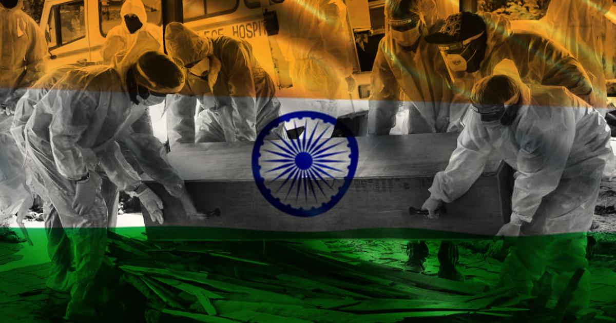 Δραματική παραμένει η κατάσταση στην Ινδία, covid19 greekschannel