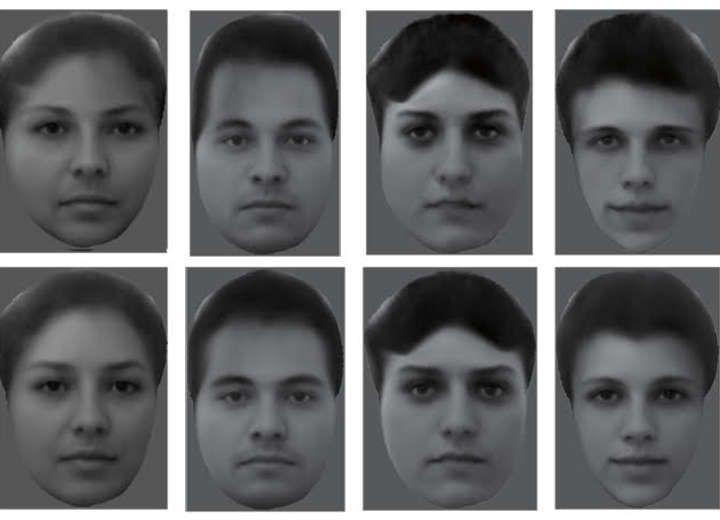 Ο εγκέφαλός μας κωδικοποιεί τα πρόσωπα κομμάτι-κομμάτι!