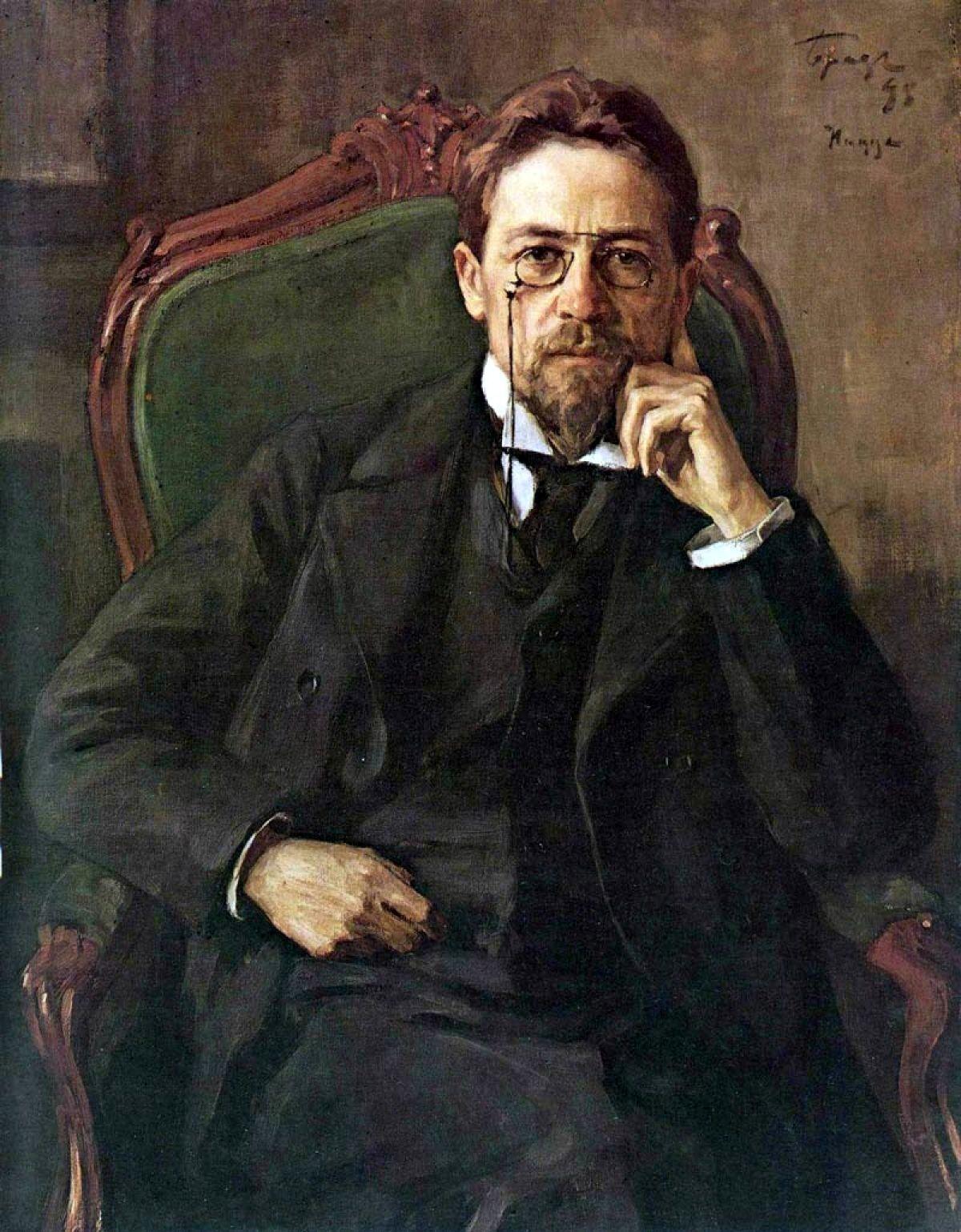 Η συγγραφή του «Γλάρου» από τον Τσέχωφ ολοκληρώθηκε το 1895.