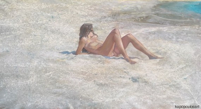 Ο «χαμένος παράδεισος» μέσα από τα έργα της Μαρίας Φιλοπούλου