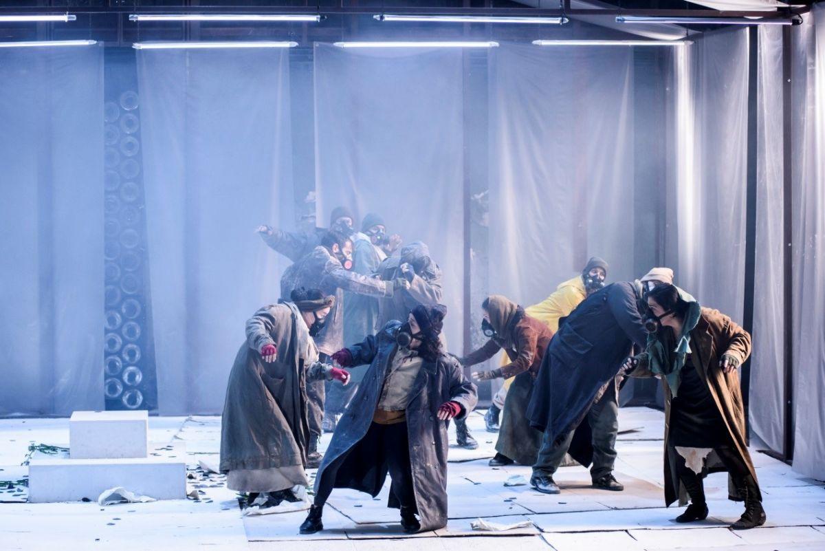 """Το έργο του Δ. Σολωμού """"ελεύθεροι πολιορκημένοι"""" σε live streaming από  το Εθνικό Θέατρο"""