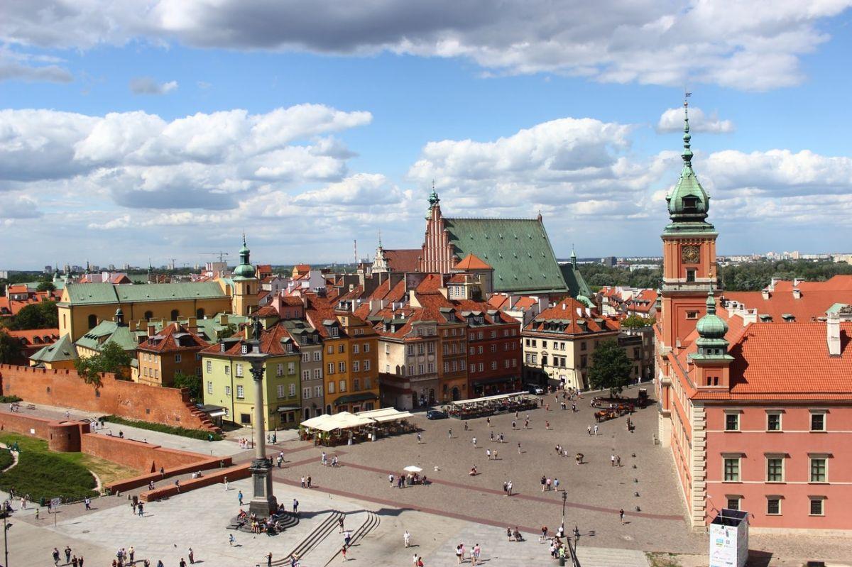 Βαρσοβία, η πρωτεύουσα της Πολωνίας και μεγαλύτερη πόλη της