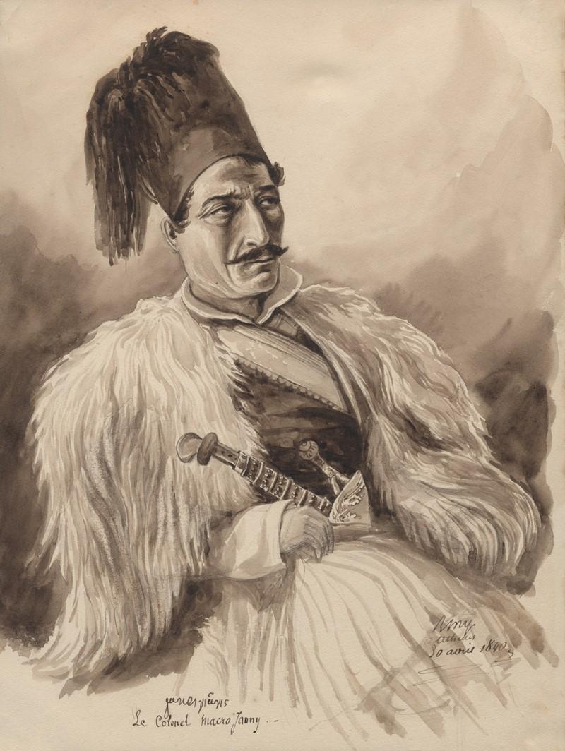 Ο Γιάννης Μακρυγιάννης υπήρξε ένας από τους σημαίνοντες αγωνιστές της Ελληνικής Επανάστασης.