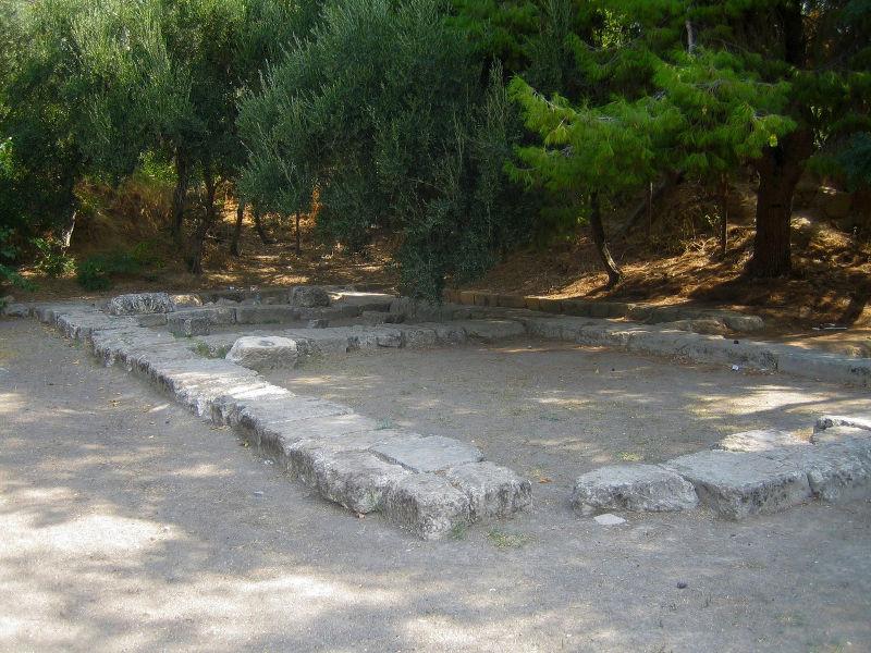 Αρχαιολογικός χώρος - Ακαδημία Πλάτωνος