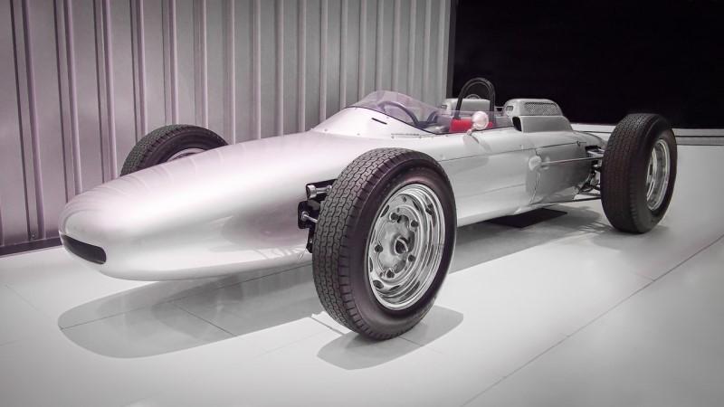 το μονοθέσιο της Formula1 porsche 804 f1