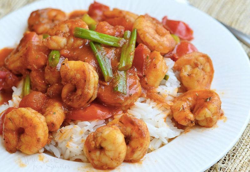 Ρύζι με γαρίδες