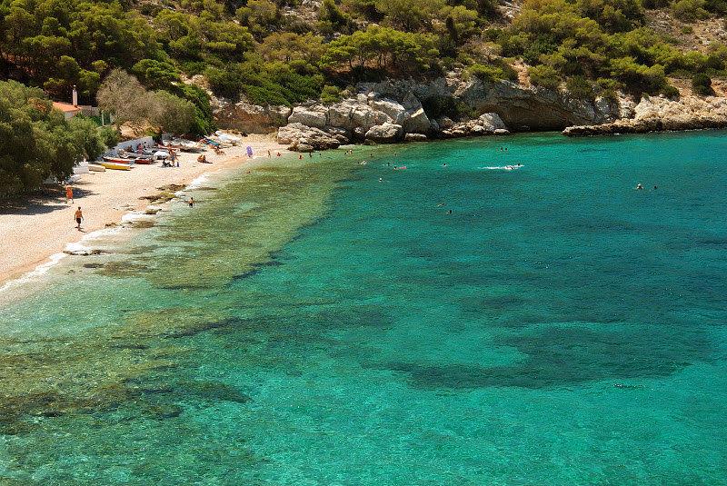 saronic islands the archipelago near athens