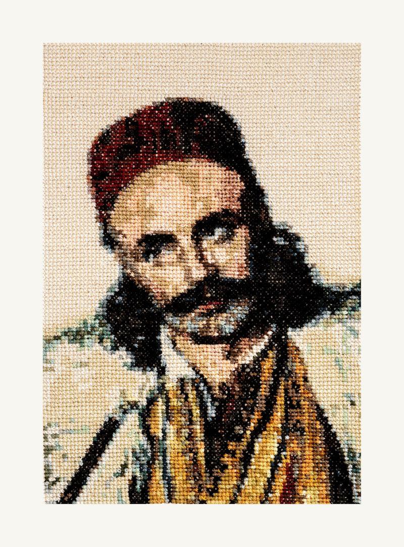 ΣΤΑΜΑΤΗΣ ΖΑΝΝΟΣ: 1821 Βασίλης Γούδας κοντινή λήψη
